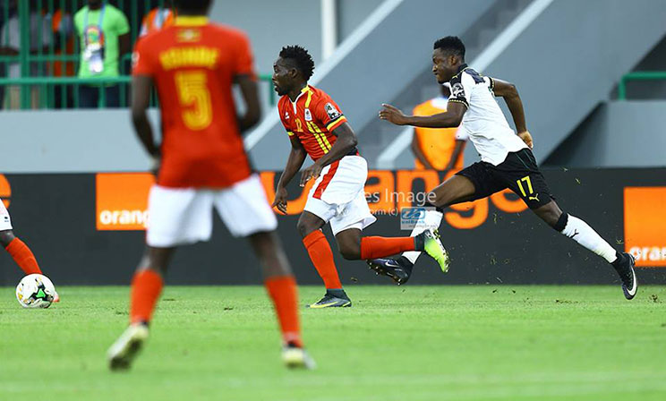Tournament Over For Ghana's Baba Rahman (17). Photograph – S. A. Adadevoh