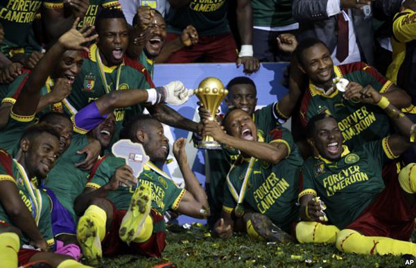 African Cup of Nations 2017 Final: Cameroon 2-1 Egypt