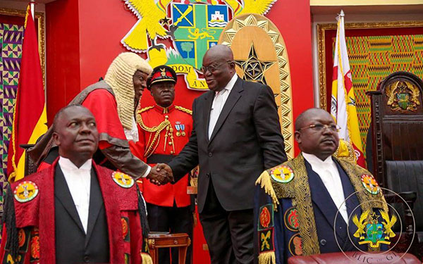 Full Text: President Akufo-Addo's First State of the Nation Address