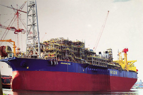 FPSO John Agyekum Kufour awaits its turn to play a role in improving Ghana's 'dumsor' problem.