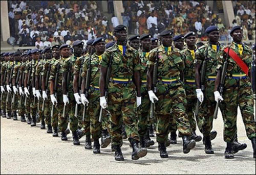 Ghana Sends Troops To The Gambia