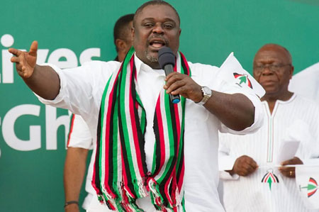 Deputy General Secretary of the NDC, Mr Koku Anyidoho