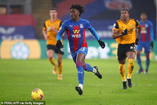 Eze is fast adapting to the Premier League and beginning to show-off his talent consistently.