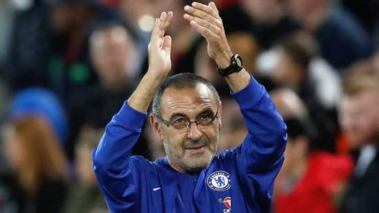 Chelsea have announced manager Maurizio Sarri has left the club to take charge of Italian champions Juventus. Credit: PA