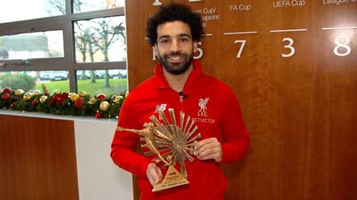 Mohamed Salah wins BBC African Footballer of the Year 2018