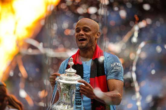 Vincent Kompany leaves Manchester City to become Anderlecht player-manager