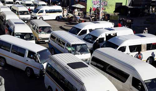 Eleven taxi drivers shot dead in South Africa on return from funeral. Image credit - Reuters