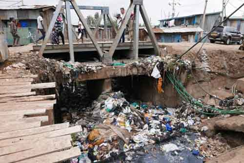 "Ban on plastic bags could stop ""flying toilets"" in Kenya's slums - A Clean Up Kenya photo."