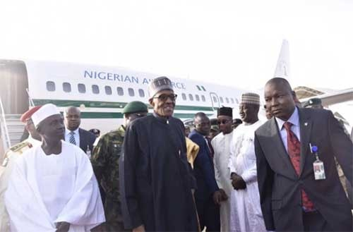 Nigeria's President Buhari Returns Following Extended Medical Leave