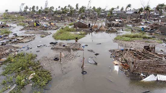Over 1,000 feared dead after cyclone slams into Mozambique. AP photo