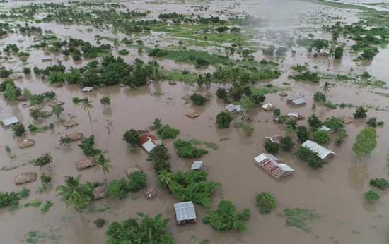Cyclone Idai batters Zimbabwe, at least 24 people dead