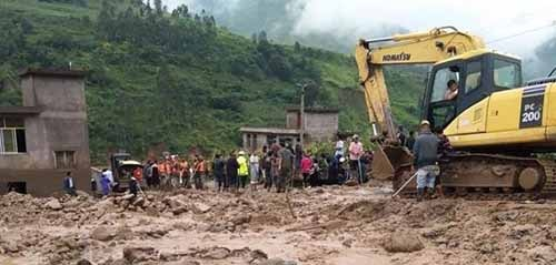 Landslide in DR Congo kills at least 200 people, destroys homes. Photo - News wires