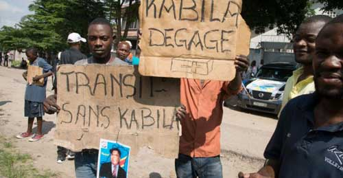 Shots fired, altar boys arrested as DR Congo tries to halt anti-Kabila protests