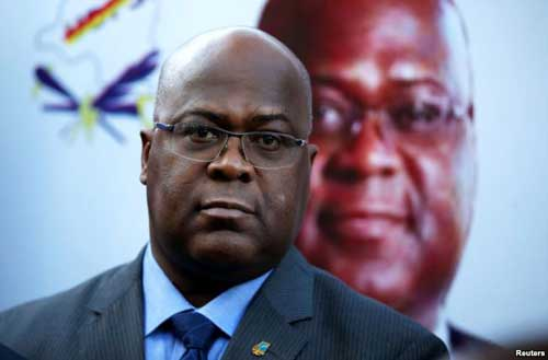 Felix Tshisekedi Declared Winner in DRC Election