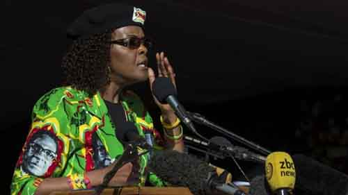 Mrs Mugabe failed to show at a summit in Pretoria on Saturday