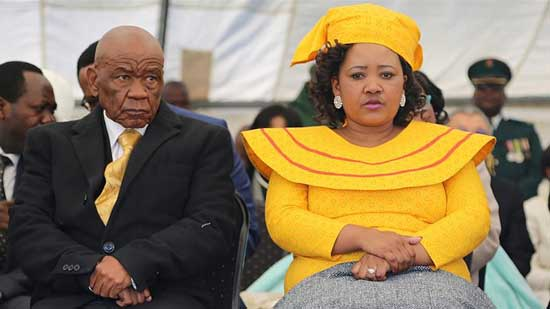 Lesotho PM's wife in court charged with killing his previous wife