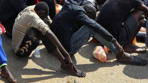 The International Migration Organization says it has gathered evidence of slavery in Libya. Getty image