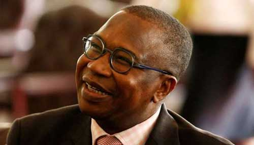 Zimbabwean Finance Minister Mthuli Ncube looks on during the swearing in of new cabinet ministers at State House in Harare, Zimbabwe, September 10, 2018. Image credit - Zimbabwe Mail