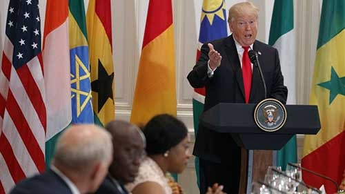 US President Catches Flak For Praising Nonexistent African Country 'Nambia'. Photo credit - VOA