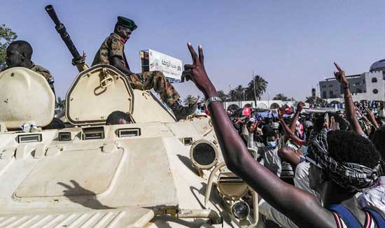 Celebrations in Sudan after Bashir is ousted (Photo: AFP)