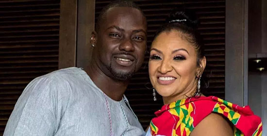 Chris Attoh with Bettie Jenifer. Image credit - graphiconline