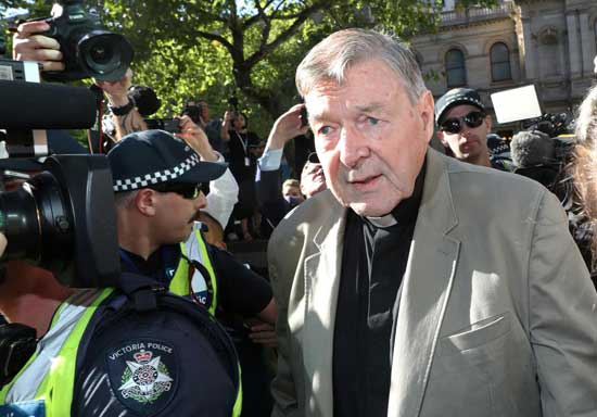 Former Vatican treasurer Pell jailed for six years for sexually abusing choir boys. Reuters photo