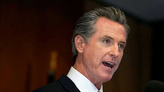 File photo - Governor Gavin Newsom