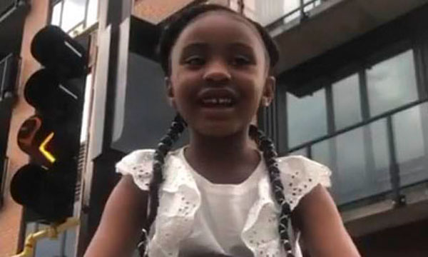 Gianna Floyd, the 6-year-old daughter of George Floyd