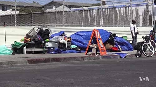 High-cost US Cities See Homeless Population Grow
