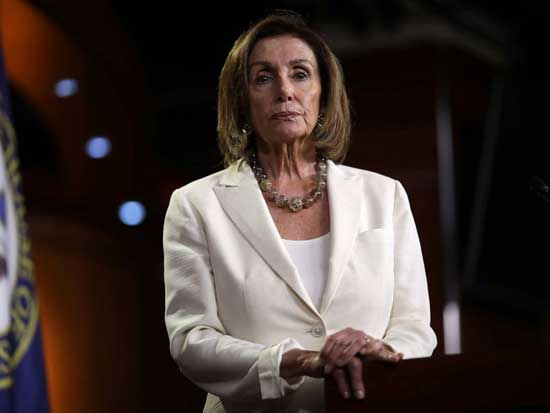 Speaker of the House Nancy Pelosi (D-CA) answers questions during a press conference at the Capitol, July 11, 2019.