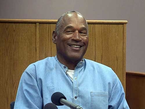 OJ Simpson to be paroled in October after serving nine years for robbery