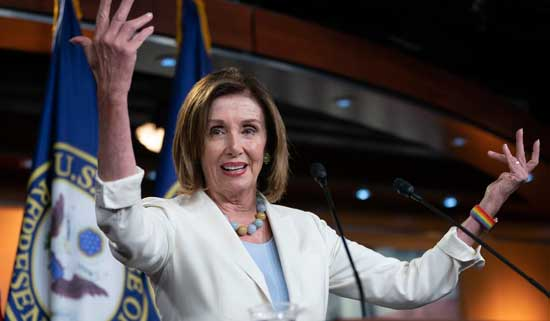 Speaker of the United States House of Representatives, Nancy Pelosi