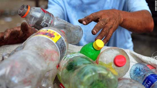 Cambodia to send plastic waste back to the US and Canada. CNN photo