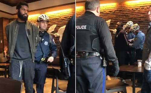 Philadelphia police investigate arrest of two black men in Starbucks