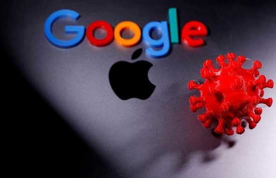 Apple and Google launch digital contact tracing system. Image credit -firstpost