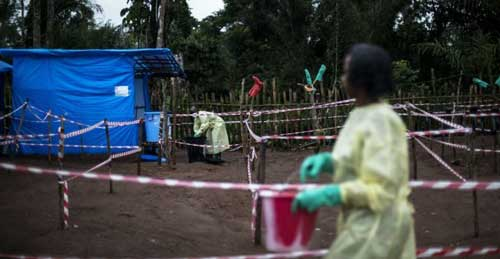 File image - WHO prepares for worst in response to DR Congo Ebola outbreak