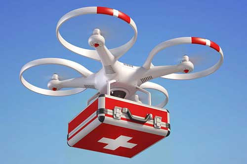 Of drones, emergency services and sustainable health care