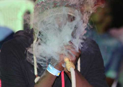 Shisha, hookah or waterpipe has become very popular among the youth in Africa, and a few countries have taken steps to ban its use. Image credit - face2faceafrica