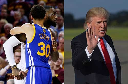 Trump picks Twitter fight with the NFL and NBA, top players fight back. Photo credit - Vogue