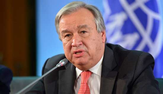 UN chief: Virus could push millions of Africans into poverty