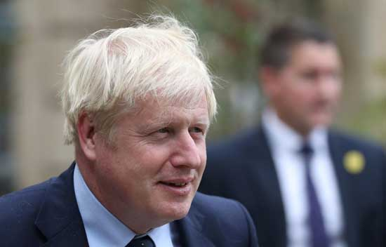 Prime Minister Boris Johnson . File image