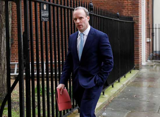 Who is Dominic Raab, Britain's standby leader?