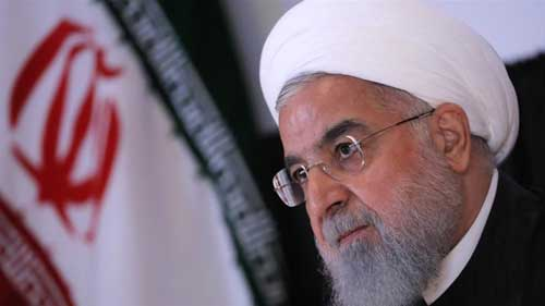 Hassan Rouhani: US seeking regime change in Iran