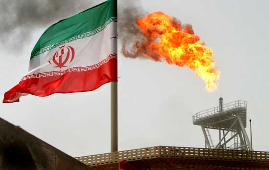 U.S. to end all waivers on imports of Iranian oil, crude price jumps. Image credit - Reuters