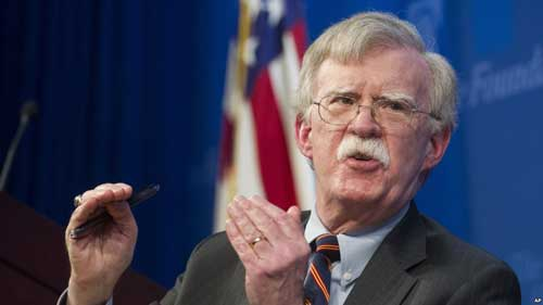 There's little question that Trump administration hawks like John Bolton are getting ready to take action on Iran — and getting ready to go it alone.