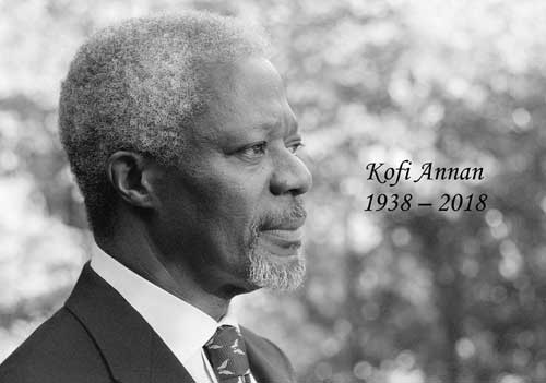 A Letter to Ghanaian Leaders as Busumuru Kofi Annan is Laid to Rest