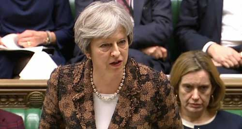Brexit chaos: Theresa May's government loses crucial vote once again on flagship Brexit deal. File image