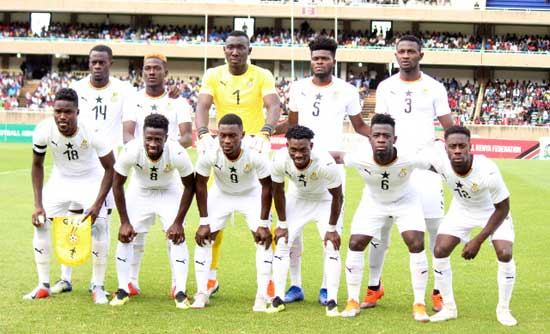Black Stars rise to 47th in November FIFA Ranking