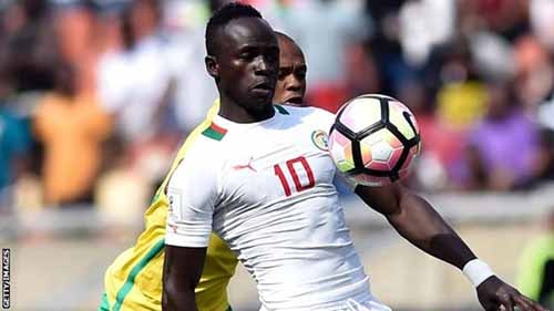 Liverpool's Sadio Mane had a hand in both goals as Senegal booked their place at Russia 2018