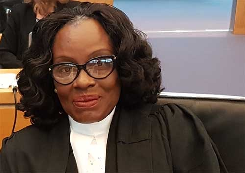 Madam Gloria Akuffo — the Attorney-General